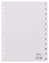 Durable Divider Index 1-12