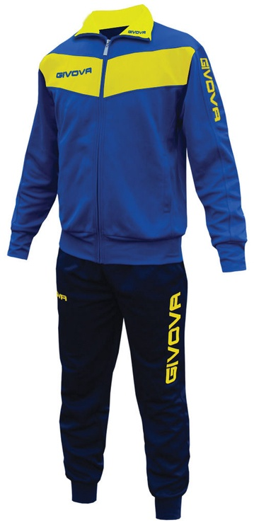 Givova Visa Blue Yellow S