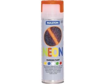 Märkeaerosool Neon oranž 500ml