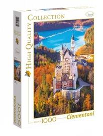 Puzle Clementoni High Quality Neuschwanstein, 1000 gab.