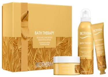 Biotherm Bath Therapy Delighting Blend Body Cream 200ml + 200ml Cleansing Foam + 30ml Hand Cream