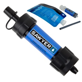 Sawyer Mini Water Filtration System Blue