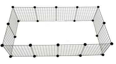 Kaitse C&C Modular Dog Kennel, 1450x370x750 mm