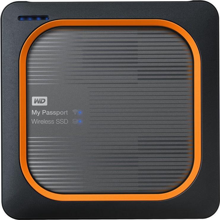 Western Digital 250GB My Passport Wireless SSD Silver