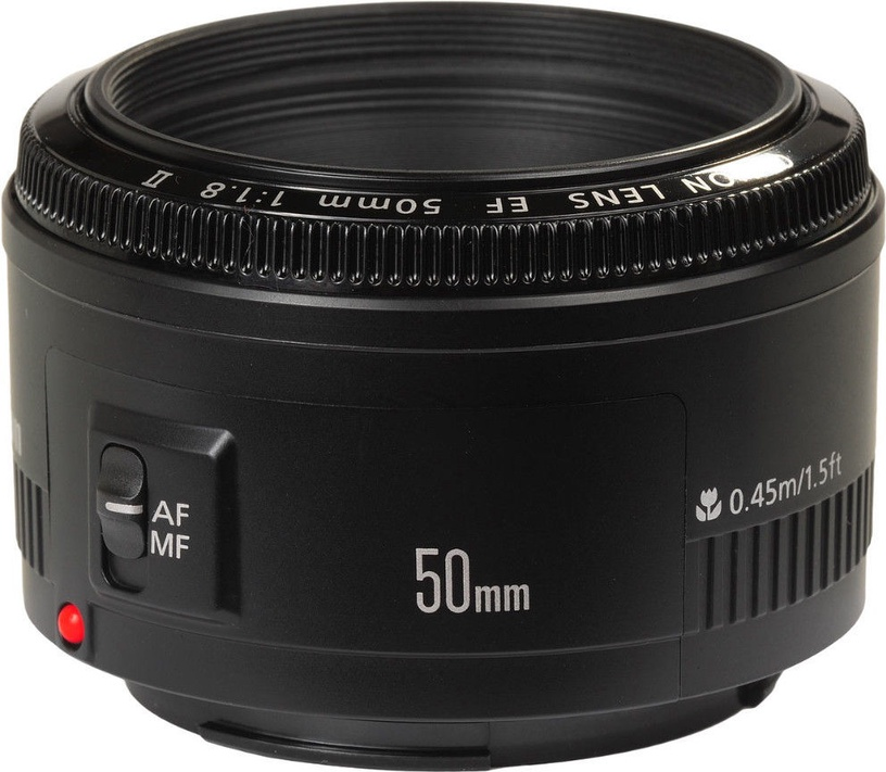 Canon EF 50mm f/1.8 II Factory Upgraded