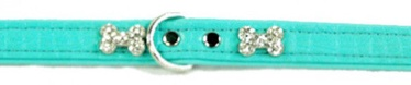 Hunter Collar Croque Bone 40 Blue