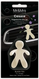 Mr & Mrs Fragrance Cesare Car Air Freshener 1pc Black Tea