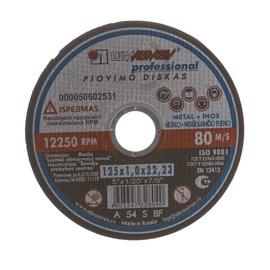 Pjovimo diskas, 125 x 1 x 22.23 mm