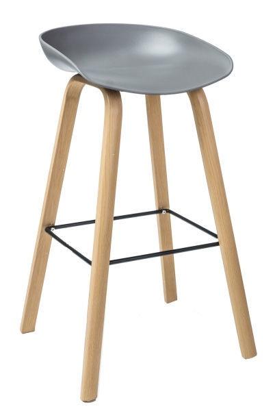 Барный стул Signal Meble Sting Grey
