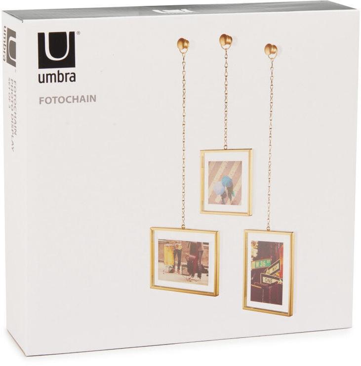 Umbra Fotochain Matt Photo Frame Brass