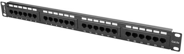 Lanberg PPU5-1024-B 24 Port Panel