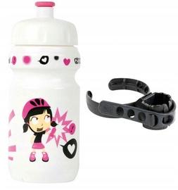 Велосипедная фляжка Zefal Little Z Girl Bottle And Universal Clip Holder