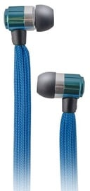 Ausinės Forever Swing Sport & Fitness Shoelace In-Ear Earphones w/Mic Blue