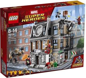 Конструктор LEGO Super Heroes Sanctum Sanctorum Showdown 76108 76108, 173 шт.