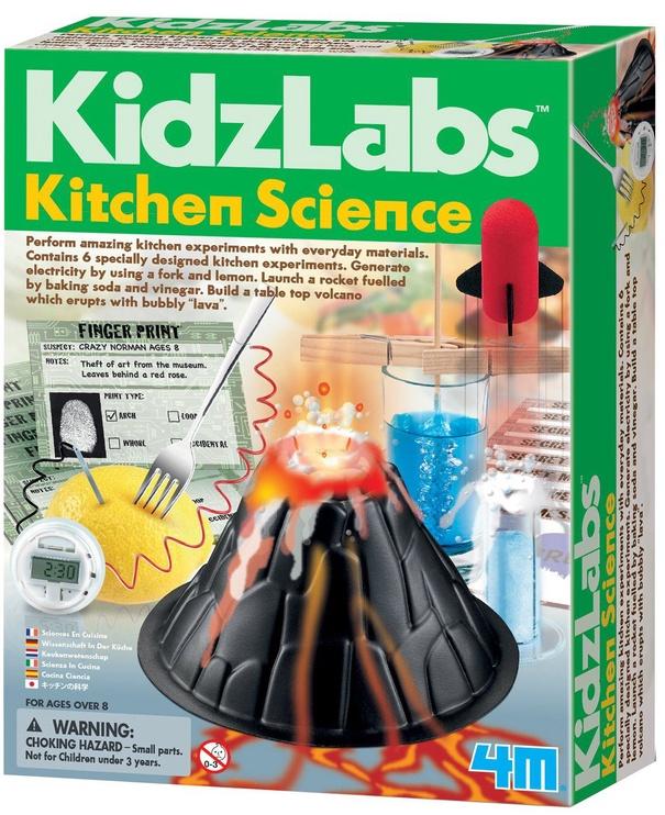 Izglītojoša spēle 4M KidzLabs Kitchen Science 3296