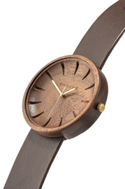 OVi Watch Argus Walnut Wood Watch