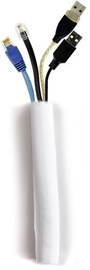 Multibrackets Universal Cable Sock Self Wrapping 25mm White 25m