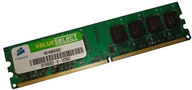 Operatyvioji atmintis Corsair 1GB DDR2 CL4 VS1GB533D2