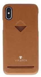 Vix&Fox Card Slot Back Shell For Huawei P20 Brown