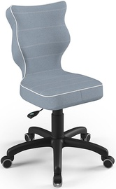 Детский стул Entelo Petit Size 3 JS06, синий/черный, 300 мм x 775 мм