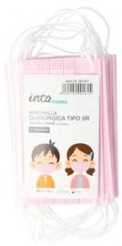 Маска для лица Inca Farma, белый/розовый