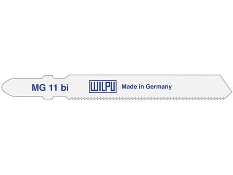 Asmeņu komplekts finierzāģim Wilpu MG 11 BI/T118AF, 5gab.