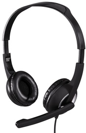 Ausinės Hama Essential Headset Black