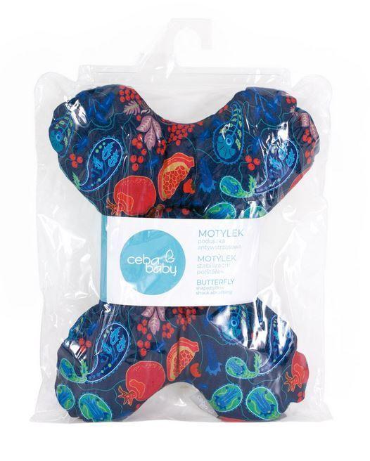 Ceba Baby Butterfly Pillow For Babies Granadas Blue