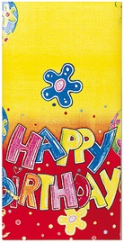Herlitz Tablecloth 120x180 Happy Birthday