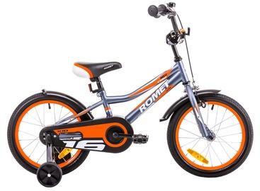 Romet Tom 16 Graphite Orange 19