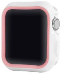 Devia Dazzle Series Protective Case For Apple Watch 44mm White/Pink