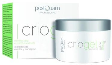 Ķermeņa krēms PostQuam Professional Criogel Gel Effect Cold, 200 ml
