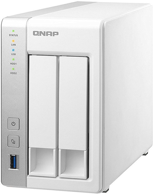 QNAP 2-Bay NAS Storage Tower TS-231P