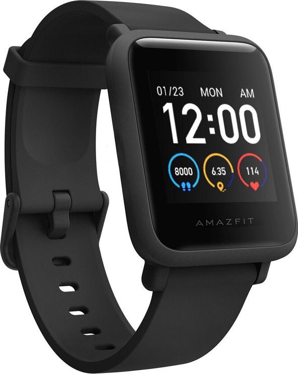 Išmanusis laikrodis Amazfit Bip S Lite Charcoal Black