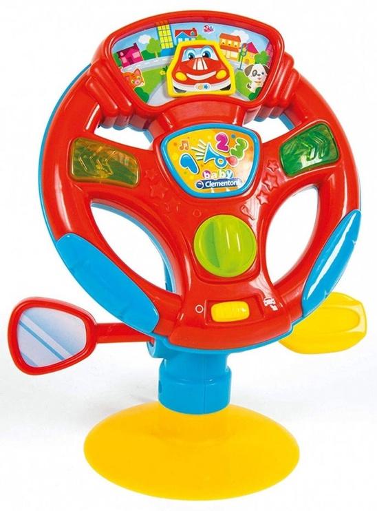 Interaktyvus žaislas Clementoni Baby Turn And Drive Activity Wheel 17241