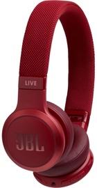 Ausinės JBL JBLLIVE400BTRED Red, belaidės