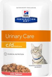 Hill's Prescription Diet Urinary Care c/d Multicare Salmon 12x85g