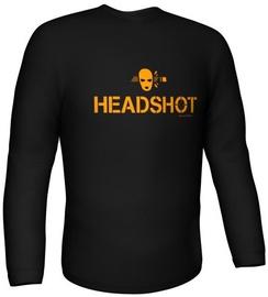GamersWear Headshot Longsleeve Black XXL