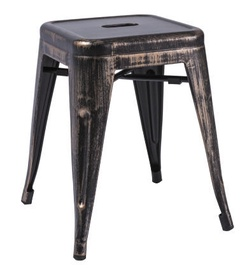 Signal Meble Stool Black Wipe