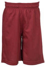 Bars Mens Basketball Shorts Red 166 S