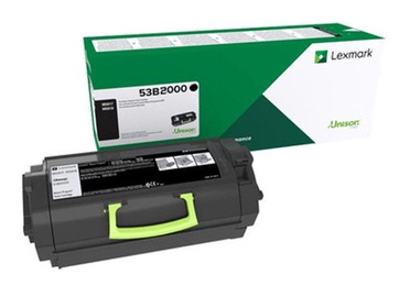 Lazerinio spausdintuvo kasetė Lexmark 53B2000 Return Program Toner Cartridge Black