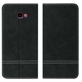 Mocco Suede Book Case For Huawei P30 Black