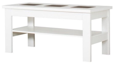 Kafijas galdiņš Bodzio S29, balta, 1200x600x590 mm