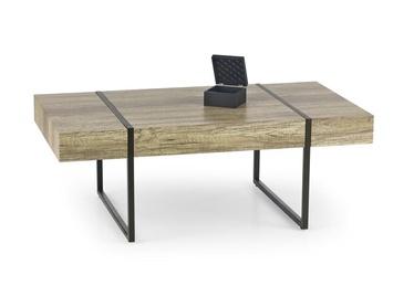 Kavos staliukas Tiffany juodu rėmu, 110 x 60 x 40 cm