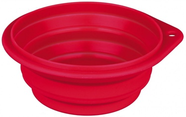 Trixie Silicone Travel Bowl 11cm