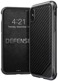 X-Doria Defence Lux Carbon Case For Apple iPhone X Black