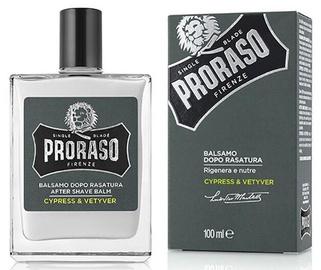 Pēcskūšanās balzams Proraso Cypress & Vetyver, 100 ml
