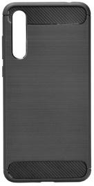 TakeMe Carbon Effect Back Case For Huawei P20 Black