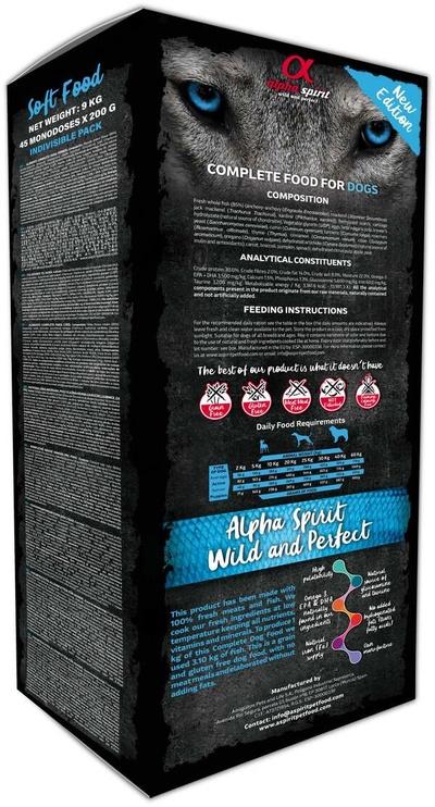Alpha Spirit Soft Food Wild Fish 9kg