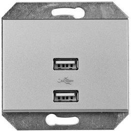 USB kroviklis Vilma XP500, metalo spalvos
